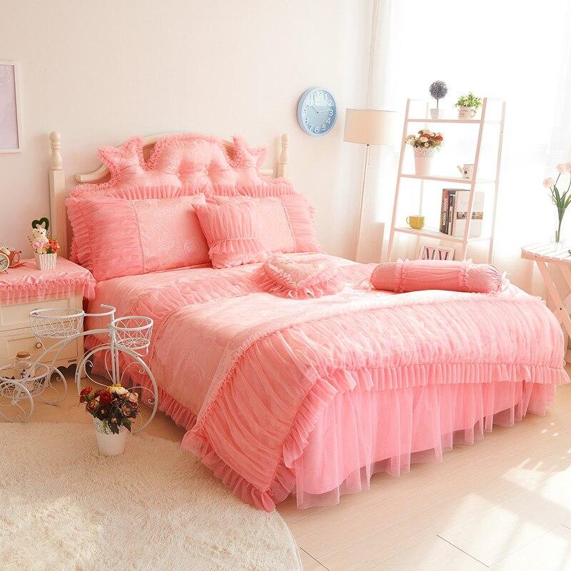 online kaufen gro handel rosa r schen bettw sche aus china rosa r schen bettw sche gro h ndler. Black Bedroom Furniture Sets. Home Design Ideas