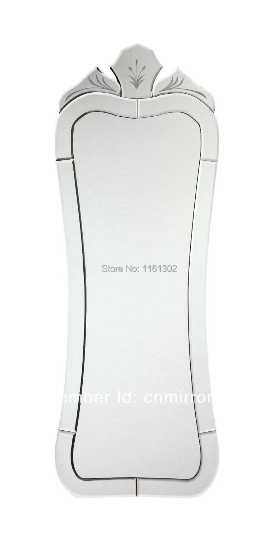 Mr 201245 gran pared refleja largo espejo veneciano en for Espejo largo pared