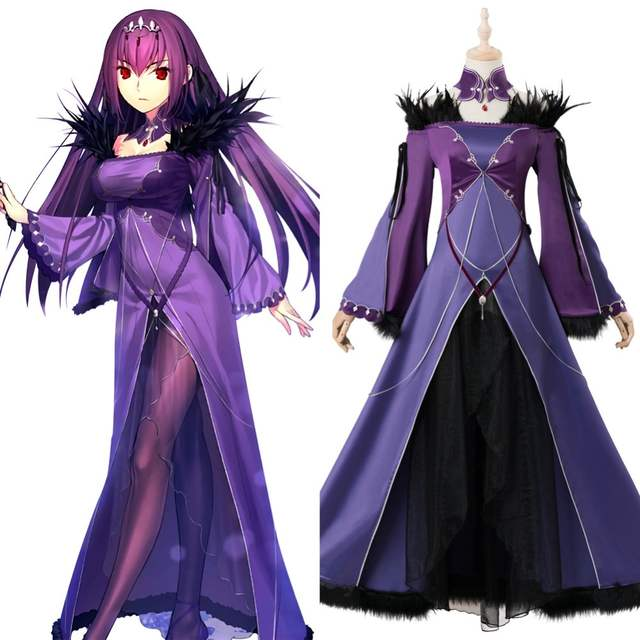 Online Shop Fate/Grand Order Caster Scathach Skadi Cosplay Costume  Halloween Carnival Costumes Customizable   Aliexpress Mobile