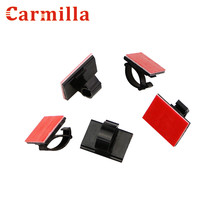 223fb4b629ec Carmilla Car Wire Cable Holder Tie Clip Fixer Organizer Adhesive Charger  Line Clasp