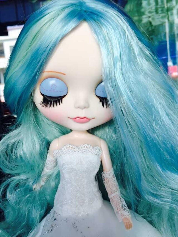 Neo Blythe Doll White Wedding Dress 6