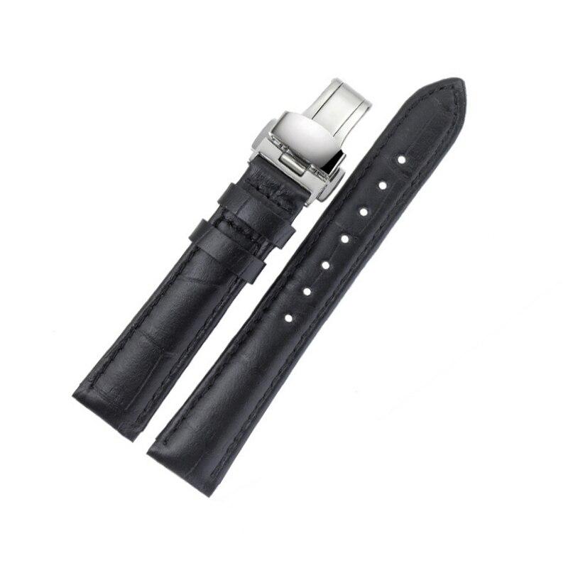 Bracelets de montre en cuir véritable pour Tissot T063 femmes bracelets de montre Vintage bracelet de montre en cuir 16 MM horloge ceinture sangle montre accessoires