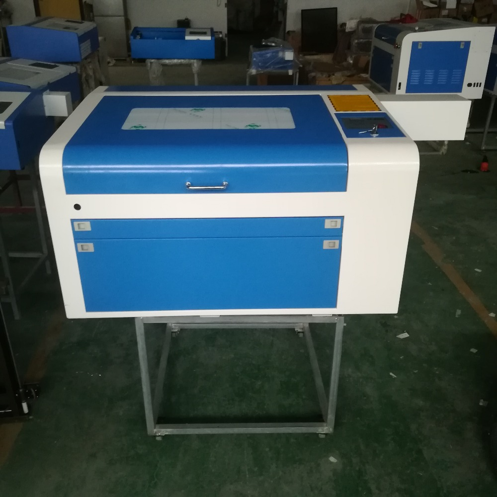 80W CO2 4060 Laser Cutting Machine Shipping To Shenzhen City Warehouse In China