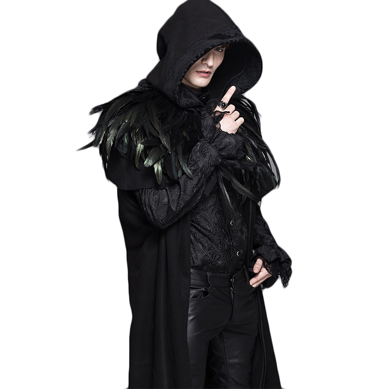 Mens Long Hooded Trench Coat Promotion-Shop for Promotional Mens