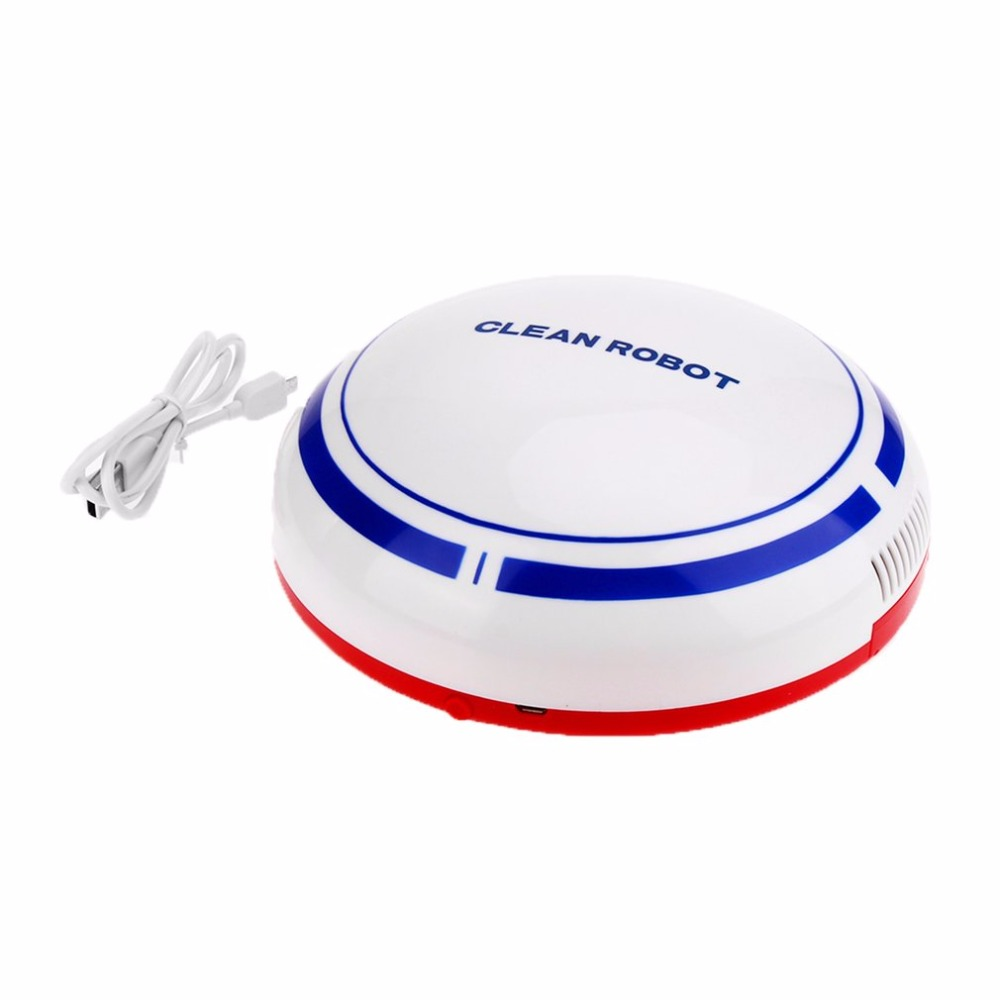 Intelligent House Cleaning Robot USB Charge Cartoon Sweep ...