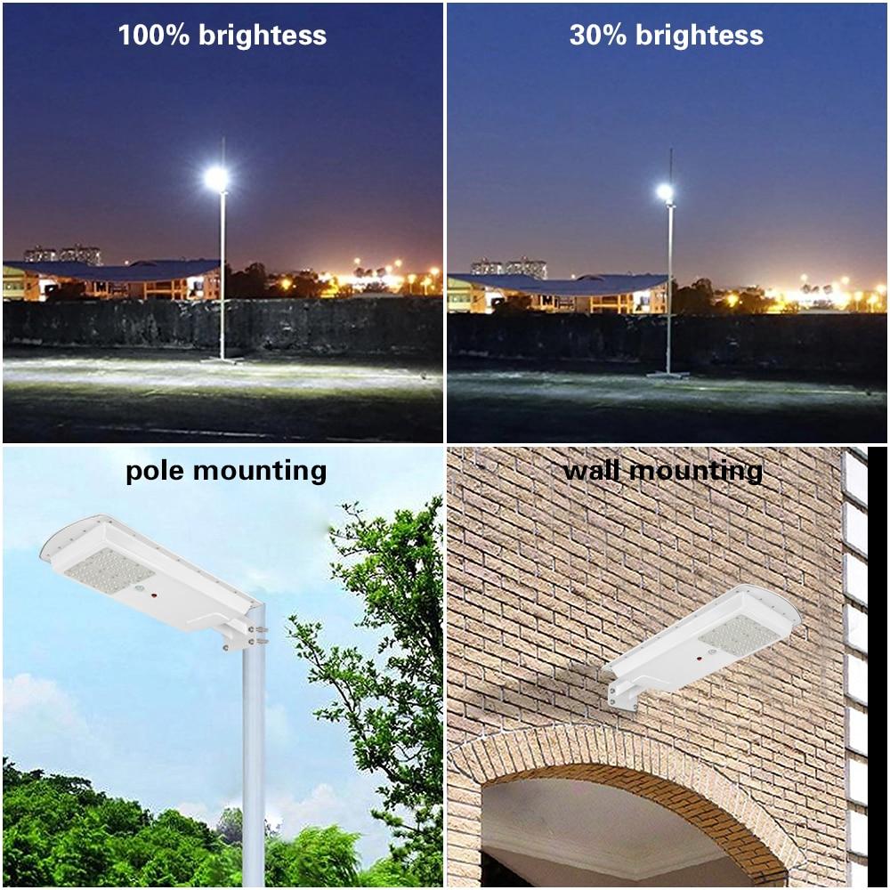 GO OCEAN Solar Lamps LED Solar Waterproof Wall Integrated LED Street Light Solar Lamp Motion Sensor Outdoor Garden Light (7)