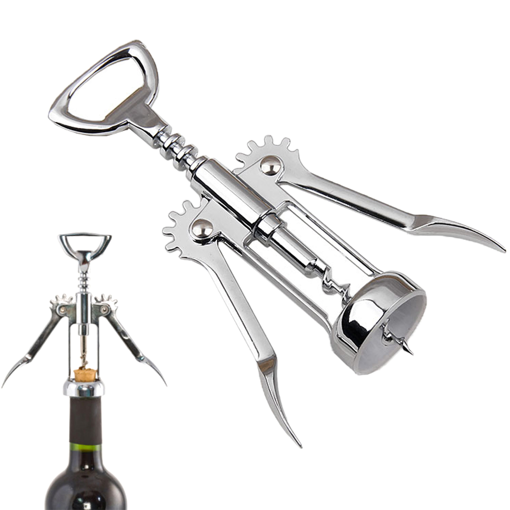 2017 Special Offer Stainless Steel Wing Style Red Wine Corkscrew Bottle Pull Opener Wine Cork Tool