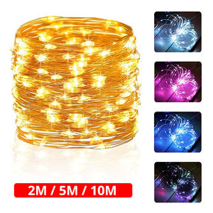 LYFS 2 M 5 M Copper Wire LED Lights Decoration Fairy Lights For Birthday Party Garland