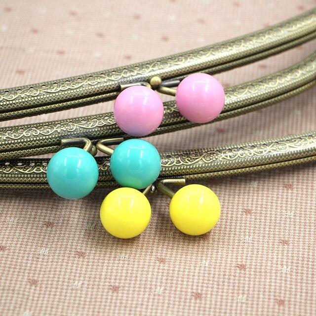 Grandes perlas de color caramelo 5 unids/lote 30 cm arco nudo ...