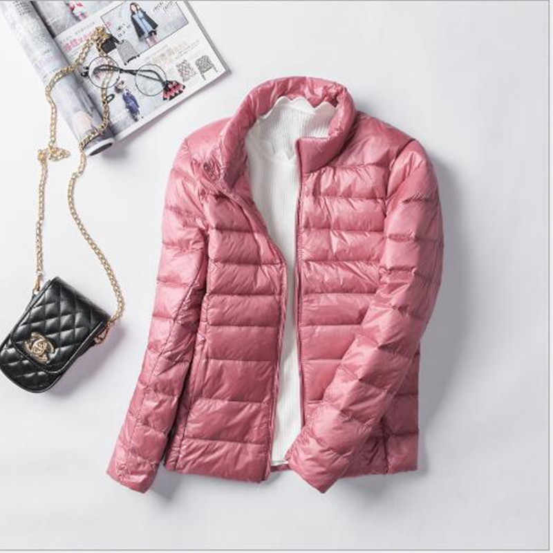 2019 Women's Lightweight Down Jacket Women's Casual Lightweight Down Jacket Women's Cotton Jacket Winter Jacket