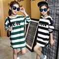 Meninas camisetas crianças t-shirt da menina tops roupas de algodão adolescente camiseta de manga longa crianças primavera outono moda para 3 ~ 14 anos MC43