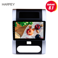 Harfey Android 7.1/8.1 2Din GPS Multimedia Player Head Unit For NISSAN X TRAIL Dongfeng MX6 2008 2009 2012 10.1 inch Car Radio