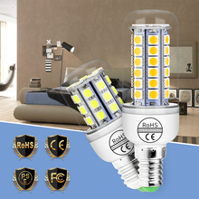 LED Lamp E27 Corn Light Bulb E14 Ampoule Led Lampada 5050SMD Energy Saving 3W 5W 7W 9W Candle 220V Indoor