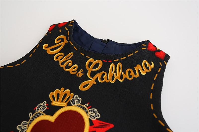 HTB199Kij.QIL1JjSZFhq6yDZFXaK Girls Dress Spring Autumn European and American Style embroidery Flower vest dress toddler Baby Girls clothing 2-8Yrs