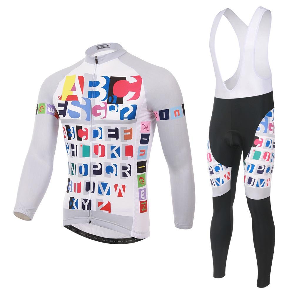XINTOWN Ropa Ciclismo Men Cycling Jersey Bike Clothing Kit 2018 Long Sleeve Shirt Bib/pants Set Bicycle Clothes Maillot Ciclismo teleyi black red ropa ciclismo maillot trouser mtb bike jersey bib pants set men cycling clothing suit riding long sleeve jacket