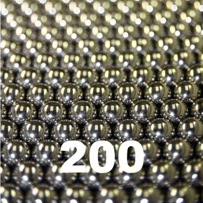 6.35mm Stainless steel balls for hunting slingshot pocket sling shots 200pcs lot diameter