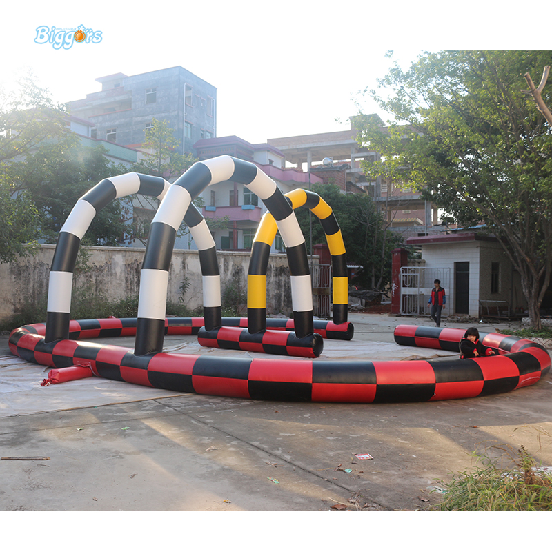 Outdoor Inflatable Go Karting Race Track With Blowers pioneer ts a6813i