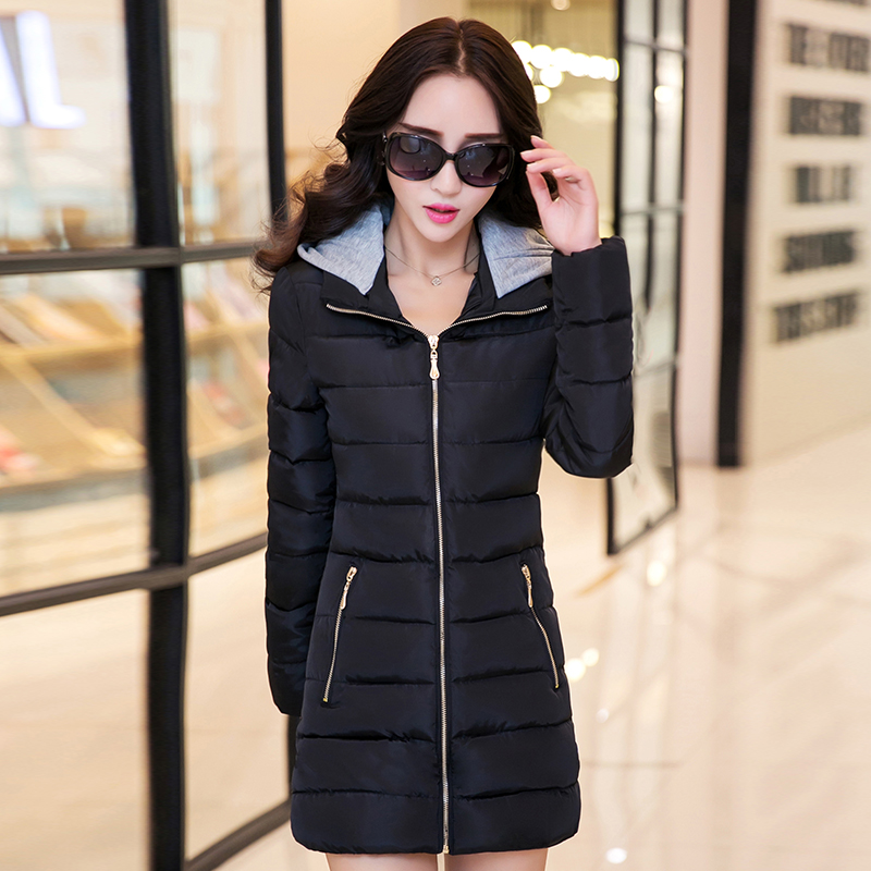 2017 Special Offer New Full Womens Winter Jackets And Coats Jacket Winter Cotton Clothing Windbreaker Women Long Slim Coat womens winter jackets and coats promotion special offer 60% zipper cotton solid 2016 female in cotton padded jacket w06005 coat