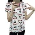 tshirt women t shirt plus size tee shirt femme woman tops 2017 poleras de mujer Hole summer casual mickey cotton women's t-shirt