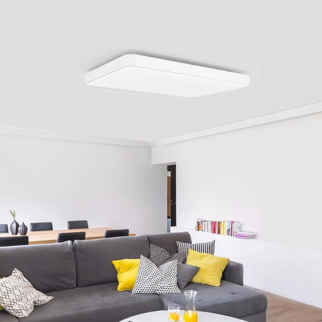 Xiaomi Yeelight Pro Simple LED Ceiling Light WiFi / App  Bluetooth Smart Remote Control For Living Room PK  JIAOYUE 650mm