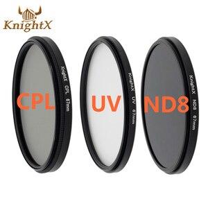 Image 1 - KnightX CPL UV Lens Filter 58mm ND Voor nikon Canon t5i T3i T4i 550D 600D 650D 1100D 60D Camera DSLR D5200 D5300 D3100 D3300 52 MM