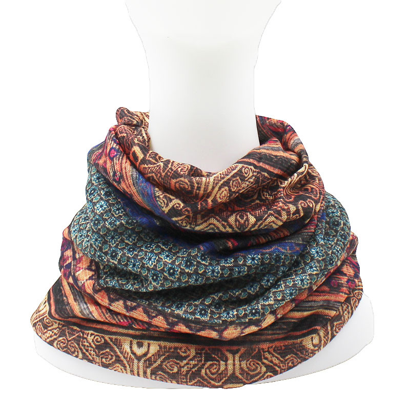 CAPSHOP Brand Autumn And Winter Dual-use  Vintage Design Hats For Ladies thin Skullies And Beanies Women Scarf Face Mask HT015 2