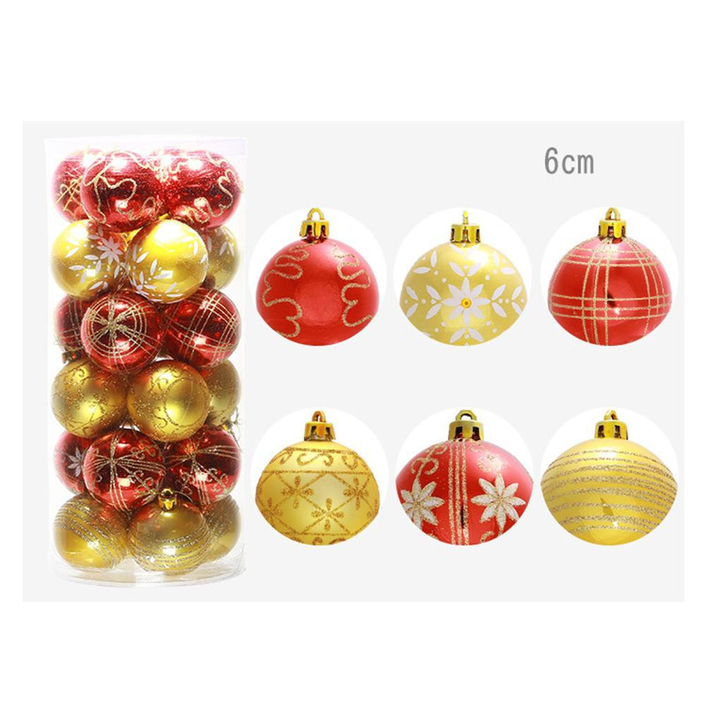 Fengrise Diy Felt Christmas Tree Kids Artificial Tree Ornaments Christmas Stand Decorations Gifts New Year Xmas Decoration 3 6cm 24 Christmas Balls Christmas Tree Decoration Balls 6 Color