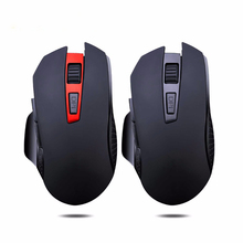 Q11 Wi-fi Gaming Mouse Mute Button Silent Click on 2400DPI Optical Mini Noiseless Mice For Pill Laptop computer PC