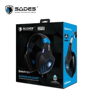 Image 5 - SADES Spellond Pro Bongiovi Acoustics Gaming Headset Deep Bass Vibration Headphone Omnidirectional Microphone