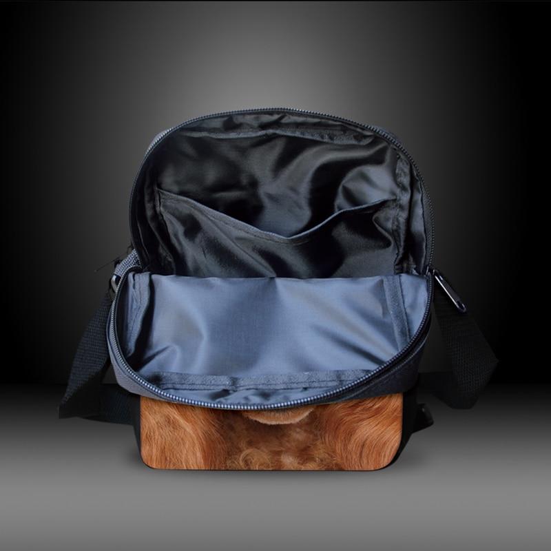 fresco bolsa de ombro animais Size : 23x17x6cm