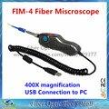 Grandway FIM-4 Sonda de Fibra Óptica Inspeção Microscópio 400X Ampliação com Interface USB