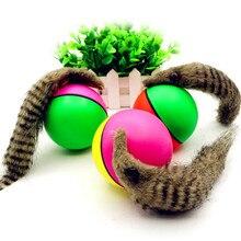 Игрушки для собак и кошек, Электрический бобер, игрушка горностай, прыгающий мяч, игрушки для собак, кошек, щенков, забавная подвижная игрушка, товары для домашних животных