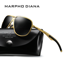 New Polarized Fashion Design Men Classic Brand Designer Eyewear Pilot Driving Sunglasses