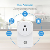 High Quality EU UK US AU Standard White Wifi Smart Plug Power Socket App Wireless Remote
