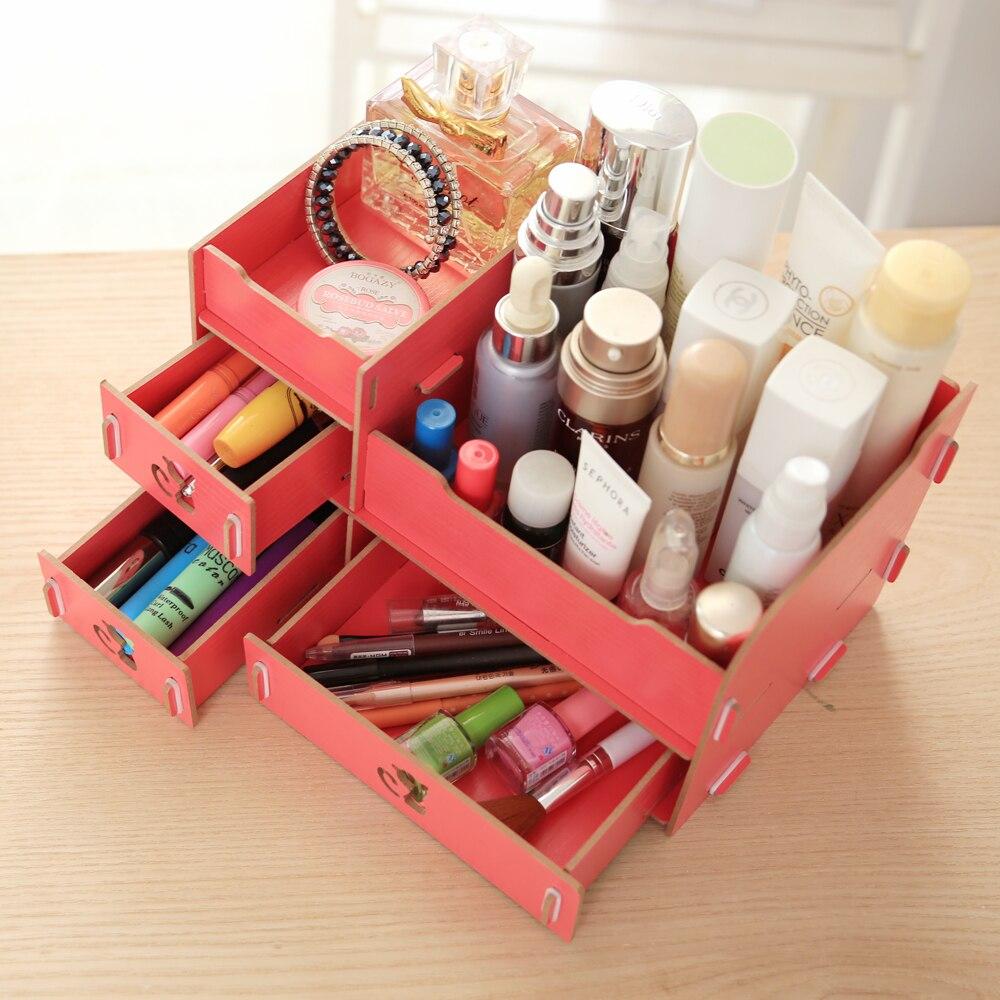 Makeup box organizer