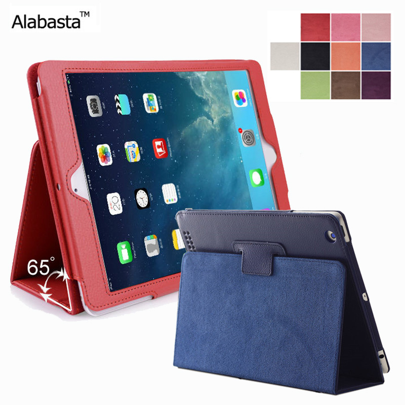 Alabasta for Funda Cover new iPad 2017 case 9.7 Wake up Smart Stand Protector  2017 Release Leather Surface Shield With stylus alabasta cover case for apple ipad air1