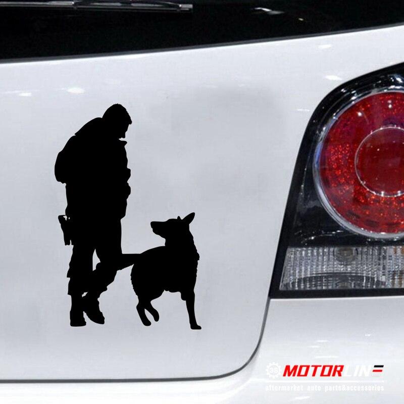 Police K9 Dog Decal Sticker German Shepherd Car Vinyl pick size ...
