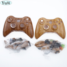 цена на YuXi Full Housing Shell Case Kit Replacement Parts for Xbox 360 Wireless Controller