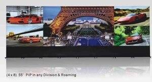 4k plus Full HD LCD Видео стена 0 мм Рамка соединенная видео стена 4x8 lg панель 55 ''PIP роуминг LCD Видео стена