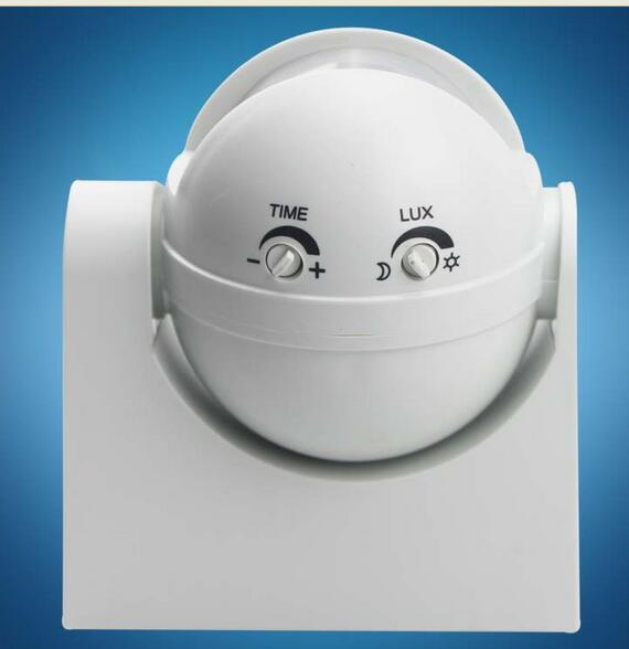 High quality 220-240V 180 Degree Outdoor Security PIR Infrared Motion Sensor Detector Movement Switch Two color 12 Meter new 180 degree security pir infrared motion sensor detector movement switch white automatic convenient durable