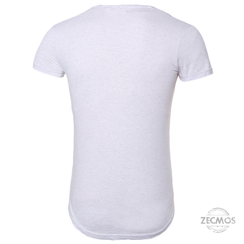 Zecmos Deep V Neck Sexy Men T-Shirt Vintage Short Sleeve Solid Color Muscle Fit T Shirt Men Top Tees Fashion 41