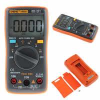 Haute qualité AN8001 multimètre numérique rétro-éclairage 6000 compte AC/DC Volt Orange Portable MeterH52