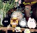 2016 de la historieta encantadora muñeca de la felpa mi vecino Totoro caja del teléfono para el iPhone 6 6 S 4.7 ' Plus 5.5 ' juguete muñeca monedero caso de la cubierta