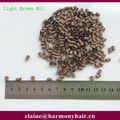 ( 8 bags/lot, 500pcs/bag ) 4.0*3.6*6.0mm Light Brown 11# Euro Locks Copper Flared Micro Tubes Beads Links Hair Extensions Tools