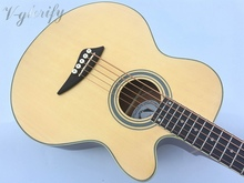 good quality 5 string acoustic bass guitar with electro