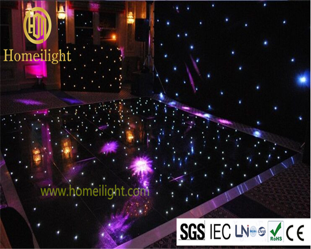 Us 3383 0 Low Consumption Led Starlight Dancing Floor With 14 14ft Dance Tile For Wedding Party In Stage Lighting Effect From Lights