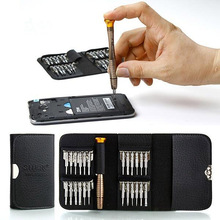 25 in 1 Phone repair tools Screwdriver Set precision screwdriver wallet pocket f