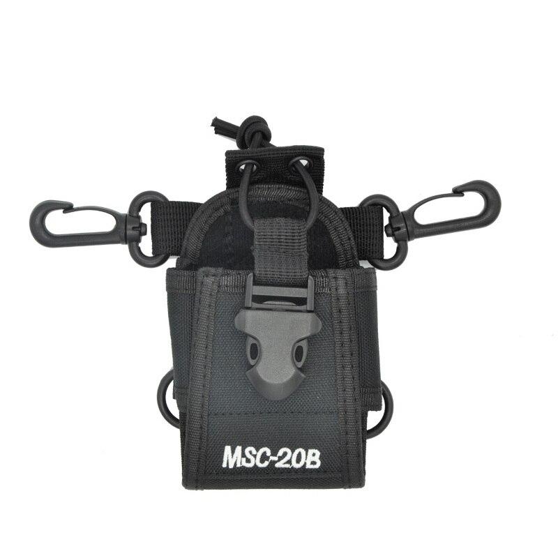 bilder für Baofeng walkie talkie zubehör msc-20b halter fall radio tasche für baofeng cb radio uv-5r uv-5re uv-b5 888 s