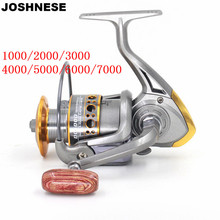Sea Metallic Spinning Fishing Reel 13 Ball Bearings Kind 1000/2000/3000/4000/5000/6000/7000 Sequence Sea Boat Spinning Fishing Deal with