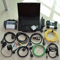 Для BMW ICOM следующий A + B + C диагностики и программист для мб звезды C4 2in1 инструмента диагностики с 1 ТБ SSD в CF 52 ноутбука экспертный режим